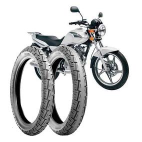 Pneu Moto Suzuki/cg/titan/fan D-2.75-18+90/90-18-t S/camara