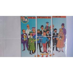 Série Puzzle Aventuras De Tintin (6 Cartões) China Unicom