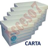 20 Cajas Archivo Muerto Geo Plastico Tamaño Carta 39x31x25cm