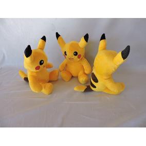 Kit Pikachu Pelúcia 5 Unidades