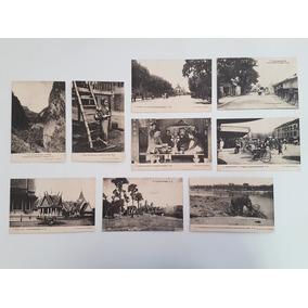 Coleção Cartões Postais Antigos Indo-china