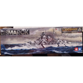 1/350 Bismarck - Tamiya - 103 Mm - Segunda Guerra Mundial