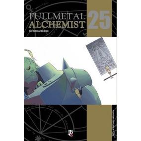 Lote Mangás Fullmetal Alchemist Nº 25, 26 E 27