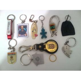 Coleção De 10 Chaveiros Militares E Civis - Usados