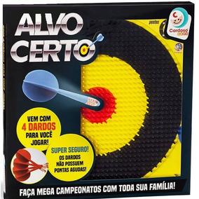 Jogo De Dardos Infantil Alvo Certo Cardoso C/ Nota Fiscal
