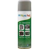 6 Unidades Tinta Spray Daxxia Alta Temperatura Cor Alumínio
