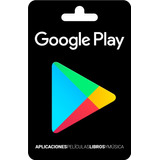 Google Play Gift Cards, Tarjetas Prepago Google Play