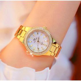 afd5ff36ac5 Relogio Strass Feminino Dourado Prata - Joias e Relógios no Mercado ...