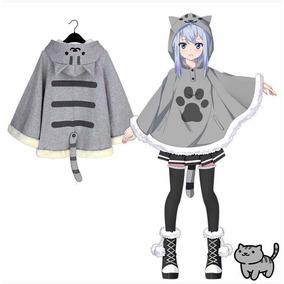 Capa/abrigo Gato Neko Kawaii Klepto Cats