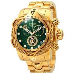 Relógio Invicta Reserve Green Dial Men Ouro-27700
