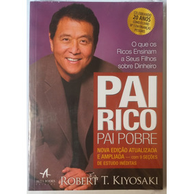Livro Pai Rico, Pai Pobre - Edição De 20 Anos /novo Lacrado