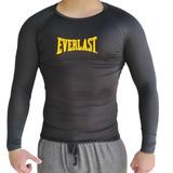 Camiseta De Compressão Manga Longa Para Musculação - Esportes e ... 4e7bcf238ae26