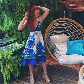 Vestido Listras Lazuli Farm