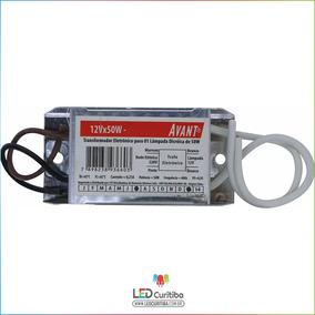 Transformador Eletrônico Para Dicroica 50w 127v - Avant