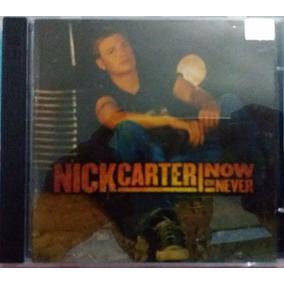 Cd Nick Carter - Now Or Never + Dvd