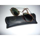 Óculos Ray Ban - Lentes De Cristal Bausch Lomb - Original dd96a72771