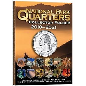 Album Para Coleção De Moedas National Parque Estados Usa