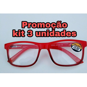 d4b75dbff32b0 Óculos De Leitura - Grau + 1,50 ( 3unidades )