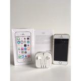 Iphone 5 S 16gb Dorado Y Blanco . Seminuevo. Única Dueña
