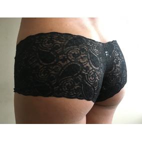 Cachetero Encaje Pantie Sexy Cuco Calzon Panty Regalo Novia