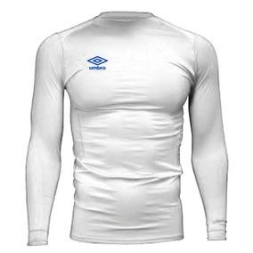 Umbro T-shirt Termica Training Blanca Hombre 3991a1bc8973f