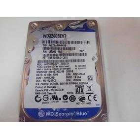 Hd 320gb Wd Scorpio Blue Wd3200bevt *defeito