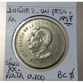 Juárez Centenario De Plata Ley 0 100