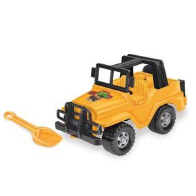 Carrinho Max Jeep Com Pá Tilin