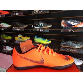 Chuteira Nike Campo Mercurial Vapor 12 Club Laranja 4c66c57aa76ec