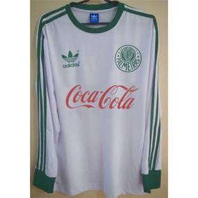 49271ab292 Camisa Do Palmeiras Retro Manga Longa - Camisas no Mercado Livre Brasil