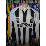 Camisa Umbro Santos Manga Longa no Mercado Livre Brasil dbe5701138a3b