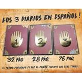 Diarios Gravity Falls (3 Tomos En Español) Envío Gratuito