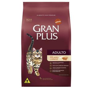 Granplus Gato Salmão 10kg