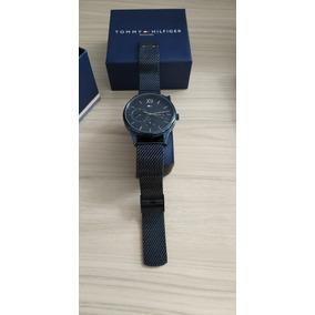 Relógio Tommy Hilfiger Masculino Malha Aço Preto