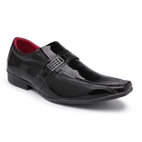 Sapato Social Masculino Verniz Frete Grátis Envio Imediato