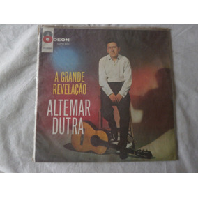Lp Altemar Dutra 1963 A Grande Revelação, Disco De Vinil