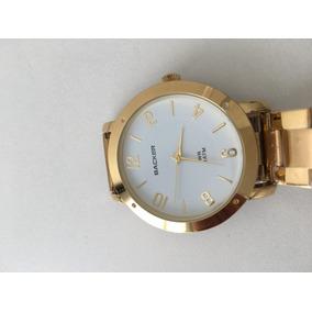 7e64f477b0b Relogio Dourado Backer - Relógios De Pulso no Mercado Livre Brasil