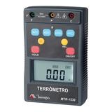 Terrômetro Digital Cat Iv 400v Lcd Mtr-1530 Minipa