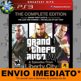 Jogo Ps3 Grand Theft Auto Iv The Complete Edition Psn Play 3