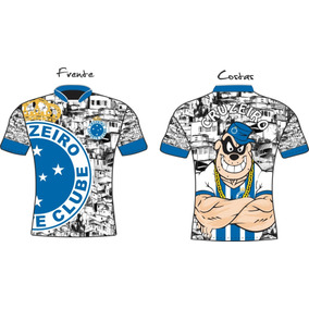 Camiseta Futebol Cruzeiro  Mineiro  Arena Mineirao aa2a3f9315786