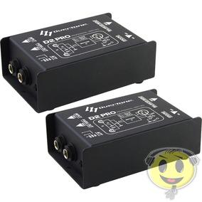 Kit 2 Direct Box Overtone D2 Pro Passivo D2 - Loja Kadu Som