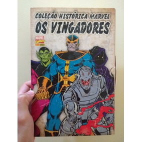 Col. Histórica Marvel Os Vingadores