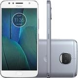 Smartphone Motorola Moto G5s Plus 32gb 13mp Topázio Vitrine
