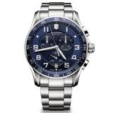 Reloj Victorinox Suizo Crono Zafiro 100% Original