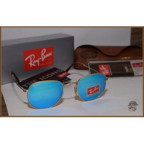 b212b99c8ec03 Oculos Rayban Lente Azul - Óculos De Sol Ray-Ban Round no Mercado ...
