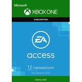 Ea Access - Xbox One - Código Digital 12 Meses.