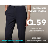 Pantalón Formal Dama