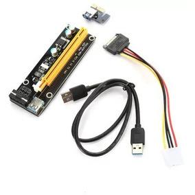 Placa/cabo Riser (mineração): Pci-e X1/x16 [importado]