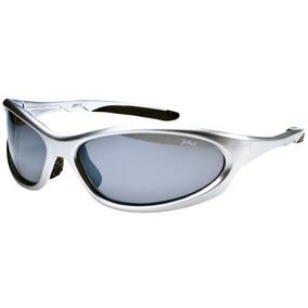 Gafas De Sol Polarizadas P13 Con Marco Tr90 Plata Y Humo