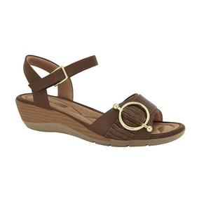 b9758e368 Sandalia Anabela Tamanho 42 Cravo E Canela - Sapatos no Mercado ...